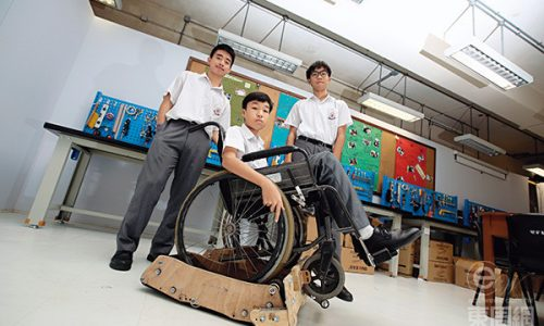 發明沙灘輪椅 學做創客學解難